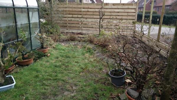 Tuinveranderingen in de late winter