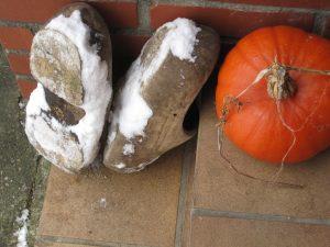 Warme, droge voeten in de wintertuin