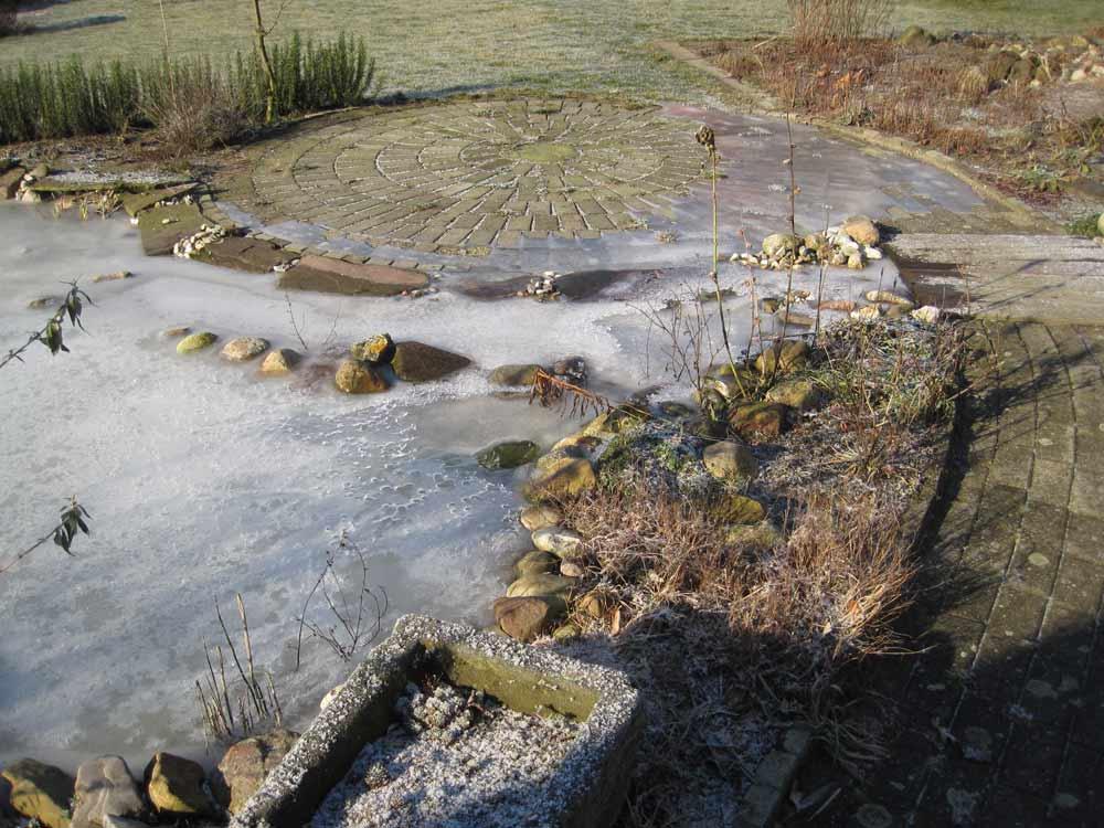 Vijver ijsvrij houden for Vijver pompen
